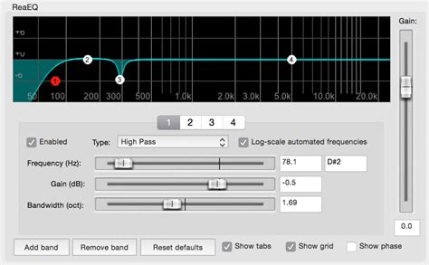 high pass filter mixer a master guide to electric guitar eq part 2 the mixing phase