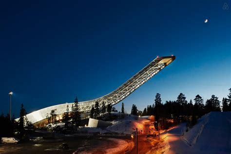 airbnb oslo airbnb converts jds designed holmenkollen ski jump into a