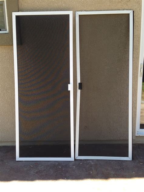 Patio Door Screen Replacement How To Replace A Patio Replacement Screen For Patio Door