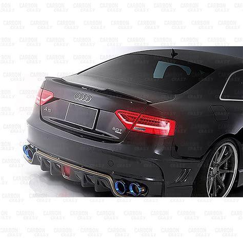 Audi Rs5 4 Door by Rwn Carbon Fibre Rear Spoiler For 2012 2016 Audi A5 S5 Rs5