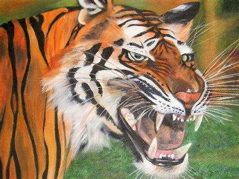 Icepack Datar Blue Bata 1 foto gratis seni asli minyak harimau kepala gambar gratis di pixabay 315233