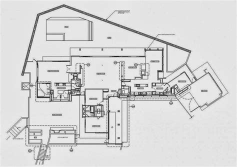 1201 laurel way floor plan world of architecture renovation of beverly hills house