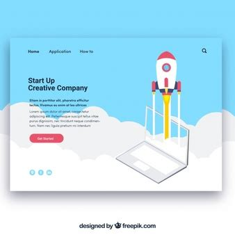 Rocket Vectors Photos And Psd Files Free Download Start Page Template