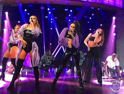 little mix show little mix hit the late late show with james corden