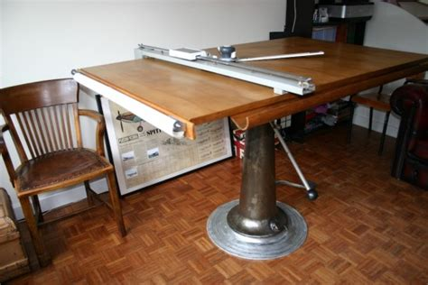 Industrial Vintage Drafting Table By Nike Of Eskilstuna Drafting Tables Uk