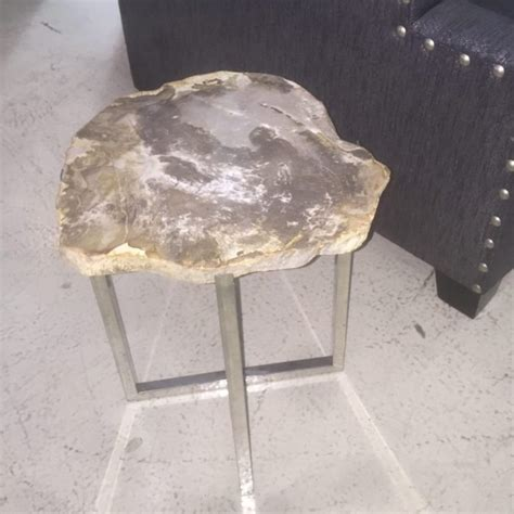 petrified wood end table petrified wood end table horizon home furniture