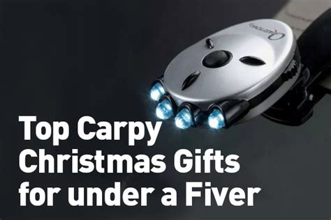 top carpy christmas gifts for under a fiver the carp