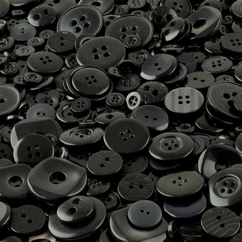 Black Buttons For Sale
