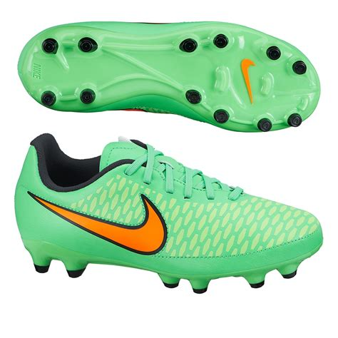 green football shoes nike magista onda fg youth soccer cleats poison green