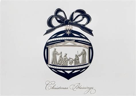christmas blessings ornament religious from cardsdirect