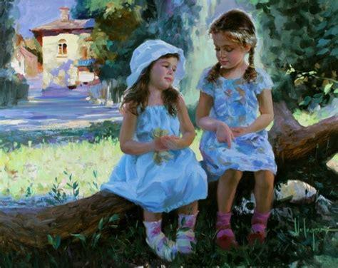 Beautiful Blogging Friends 2 by Vladimir Volegov Russian I Am A Child