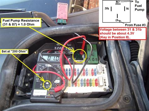 diy  volvo  fuel system troubleshooting tips volvo forums