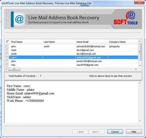 html format windows live mail import windows live mail contacts screenshot x 64 bit