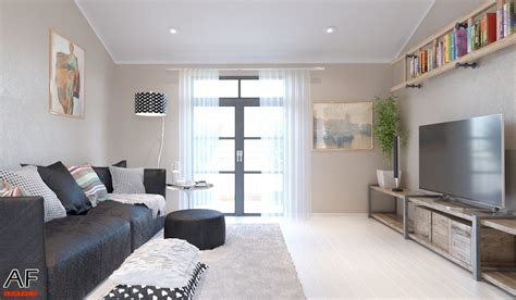 rendering di interni rendering di interni appartamento studio grafico af