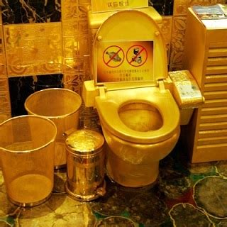 Trump Gold Plated Car most expensive toilet in the world is made of gold