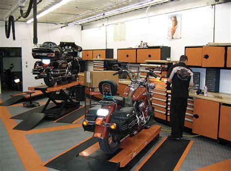 Harley Davidson Garage by Harley Davidson Garage Flooring Racedeck