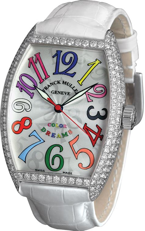 Franck Muller Infinity Colour Dreams White luxury swiss watches review franck muller color dreams cintree curvex 7851 ch col