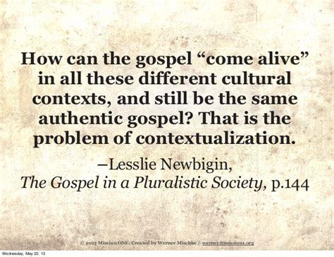 doa sebelum bekerja contextualizing the gospel