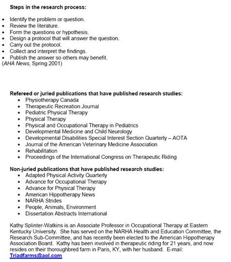 Animal Assisted Therapist Cover Letter by More Research And Resources On P