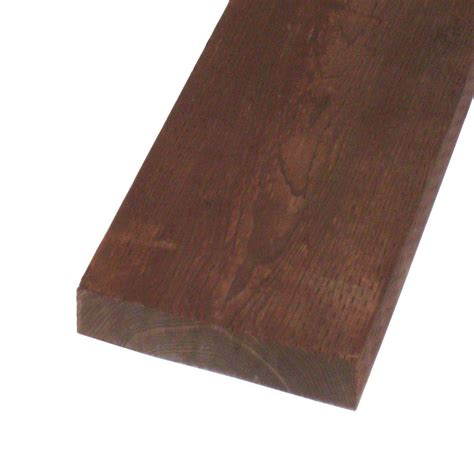 Home Depot Pressure Treated Lumber by Pressure Treated Lumber Hf Brown Stain Common 2 In X 12