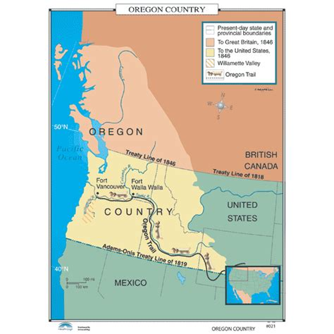 map of oregon territory 1846 history maps for classroom history map 021 oregon country