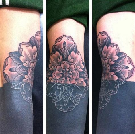 flower nipple tattoo sunken flower blackwork best ideas gallery