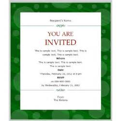 business invitation templates word email invitation template best template collection