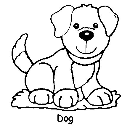 coloring pages of little dogs dog coloring pages free dog coloring pages for kids