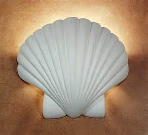 Shell Sconce Shell Wall Sconce Lights Completely Coastal