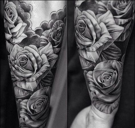 25 rose tattoo designs for men and women