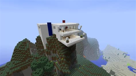 cliff side house cliffside house minecraft project