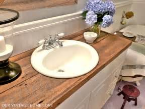 diy bathroom countertop ideas our vintage home master bath redo featuring