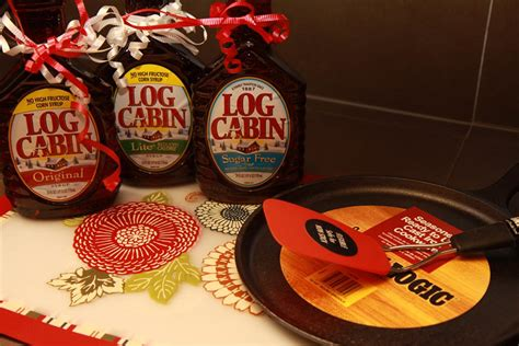 special family breakfast log cabin syrup   high fructose corn syrup giveaway momstart