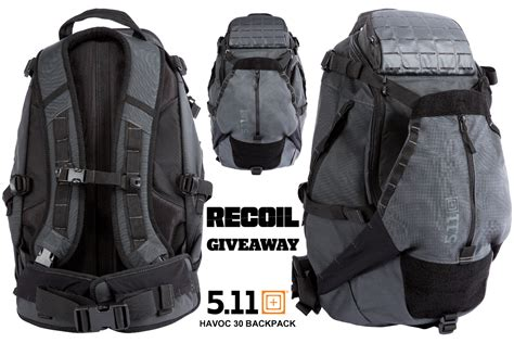 511 tactical backpacks 5 11 tactical havoc 30 backpack giveaway