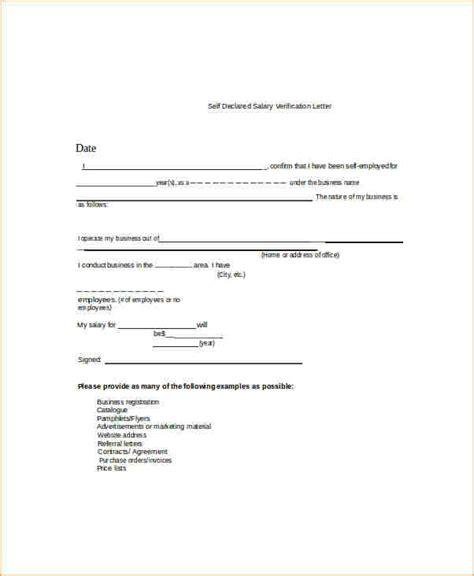 Salary Verification Letter Exle 6 Income Verification Letter Academic Resume Template