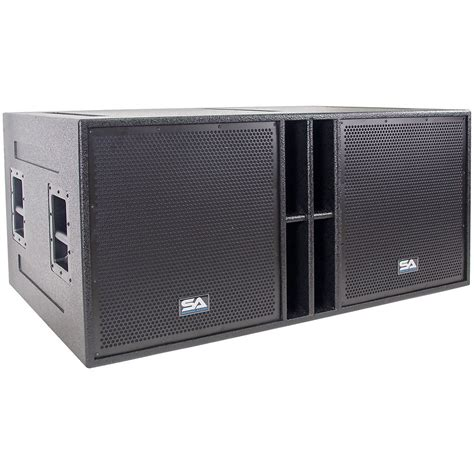 Speaker P Audio 18 Inch seismic audio the 18 passive 4x18 quot 2x1200w reverb