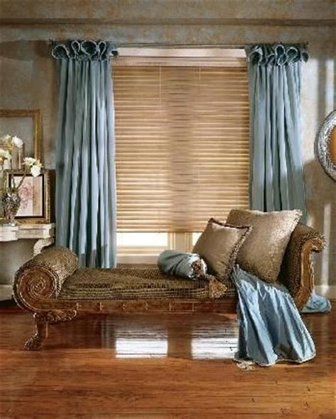 curtains over wood blinds curtains over blinds decors de fenetres pinterest