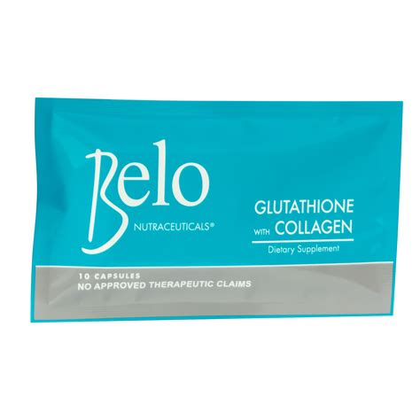 Glutathione Collagen belo nutraceuticals glutathione collagen dietary
