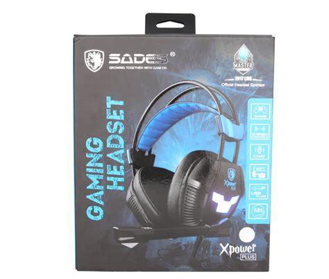 Headset Gaming Sades Xpower Plus headset gaming sades xpower plus