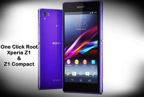 one click root for android easy one click root for sony xperia z1 and z1 compact the android soul