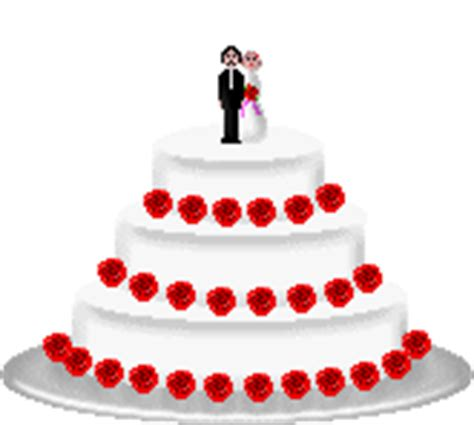 Wedding Cake Animation by Free Graphic Clipart Wedding Animation