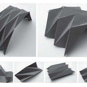 Folded Plate Structure Folded Plate System Commercial Spaces Pinterest Arch Origami And Folding Phlet Template