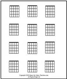 Kids Sports Room Ideas by Blank Guitar Chord Chart Print It Out And Fill It In With
