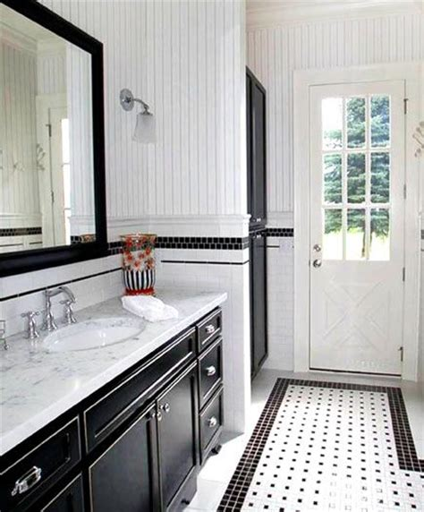 white bathroom interior design clean and neat small space classic black and white give this bathroom a sharp clean