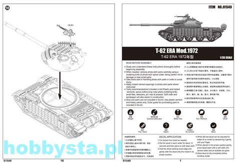 Tp01556 135 Russian T 62 Era Mod1972 t 62 era mod 1972 trumpeter 01549