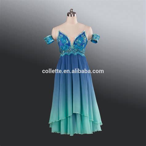 Dress Balerina new bly1208 light blue velvet