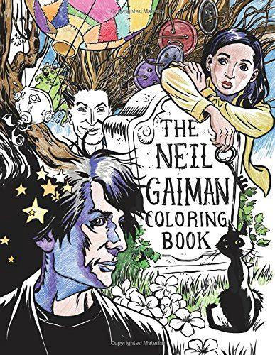 the neil gaiman coloring book harvard book store
