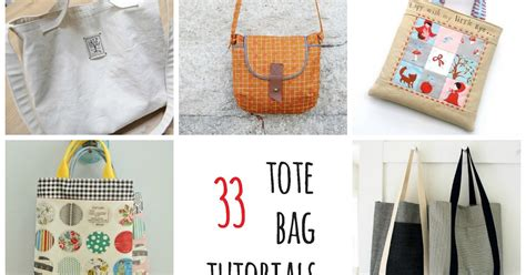 Handmade Tote Bag Tutorial - s o t a k handmade thirty three tote bag tutorials