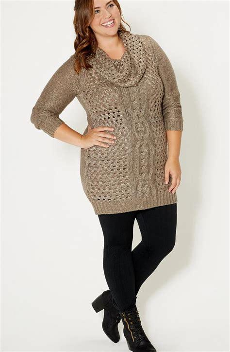 plus size knit dresses knit dress plus size pluslook eu collection