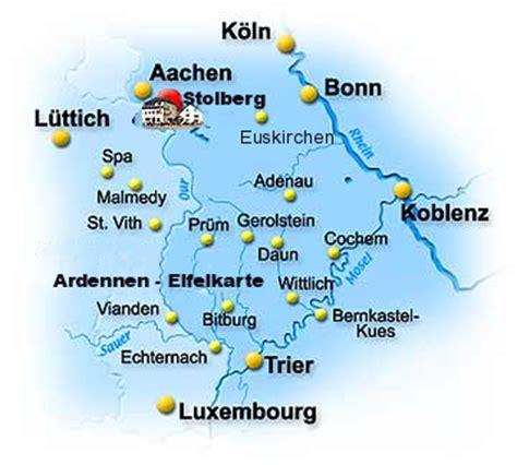 Motorradtouren Eifel Karte by Karte Eifel Ard Ardennen Hohes Venn